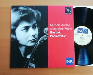 COUP 0011 Michele Auclair Jacqueline Robin Bartok Prokofiev Coup d'Archet MINT