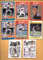 1990 Donruss Cal Ripken JR. Error & 1991 Error & 6 Cal Ripken JR. Orioles Cards