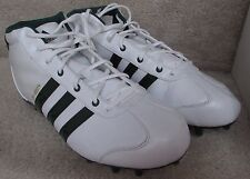 Adidas University LE Mid Mens Football Cleats Shoes Size 12 White 534444 NWT NEW