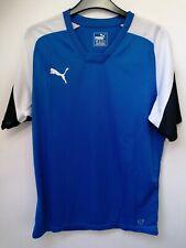 Puma T Shirt Size M Blue White Black Bnwt