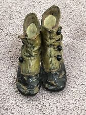 "Vintage 1999 Collectible Figure- 4� Resin -Vintage Type ""High Button Shoes�"