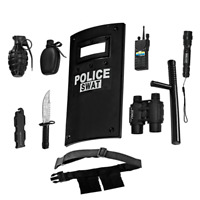 Ultimate All-In-One Role Play Police Accessory kit For Kids By Dress Up America