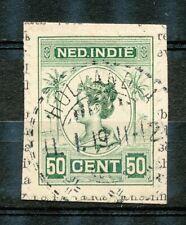 Nederlands Indië 129 met langebalkstempel HOLLANDIA