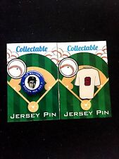 Boston Red Sox Ted Williams lapel pin/mini pin set(2)-Classic Sox Collectables