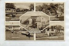 """""""""""POSTCARD MULTIVIEW WORTHING,SUSSEX"""""""""""