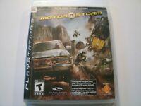 MotorStorm (Sony PlayStation 3 PS3, 2007) Complete