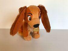 STUFFED LADY, Lady and the Tramp plush, small stuffed Lady, Disney plush dog