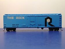 "HO Scale ""The Rock"" ROCK 16738 Fifty Foot Freight Train Box Car / Roundhouse"