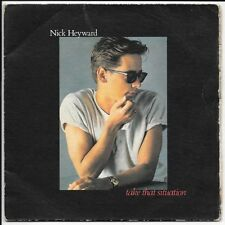 "Nick Heyward Take That Situation 7"" vinyl single, UK HEY2 ARISTA 1983"