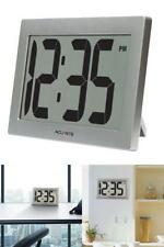 Digital Wall Clock LCD Screen Display Stand Large For Home Office Classroom New