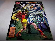 SIGNED MARK WAID THE FLASH #110 1ST PRINTING DC COMICS PRE NEW 52