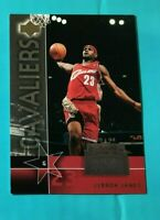 LEBRON JAMES ROOKIE 2004 UPPER DECK TRADING DAY ROOKIE CARD #UD7