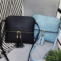 Ladies Cross Body Messenger Bag Women Shoulder Over Bags Detachable Handbags