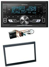 KENWOOD 2din aux mp3 Bluetooth Autoradio USB PER PEUGEOT 207 307 EXPERT PARTNER