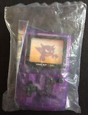 Haunter Purple Burger King Gameboy Pokemon World Original 2000 SEALED RARE