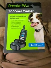 Premier Pet 300 Yard Remote Dog Trainer w/ Tone/Beep + Vibration w/ Collar