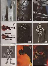 Star Wars - The Force Awakens Series 2 - Concept Art-Set von Topps 2016
