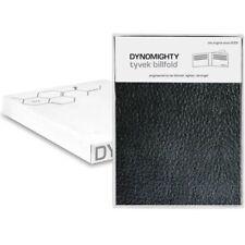 Dynomighty Men's Black Leather Print BILLFOLD WALLET BF-001/ 6 credit card slots