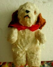 Vintage 1950's Knickerbocker Teddy Bear Puppy Nice Misfit Toy Christmas Prop