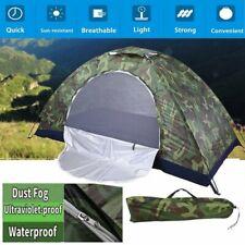 Campingzelt Trekkingzelt Outdoor Camouflage Wandern Ultraleicht 1-2 Personens DE