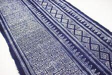 Indigo Fabric Handmade Tribal Fabric Vintage  Style Craft, DIY Supply 10009