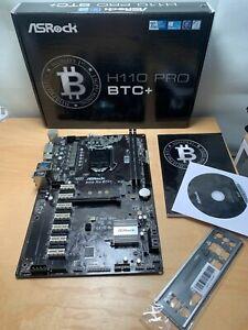 ASRock H110 Pro BTC+ 13x PCI-x Motherboard -ref101