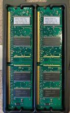 (2) Vintage Apple 128-MB DDR 333MHz RAM chips, 256 MB total