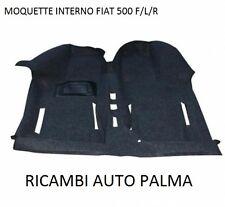 TAPPETO PAVIMENTO RIVESTIMENTO PEDANA IN MOQUETTE FIAT 500 F L R DAL 1965
