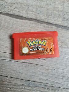 Pokemon rosso fuoco advance nintendo perfettamente funzionanteITA