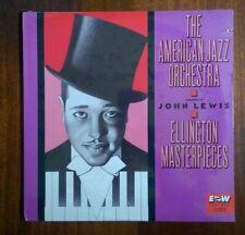 The American Jazz Orch. - John Lewis / Ellington Masterpieces (LP New) 91423-1