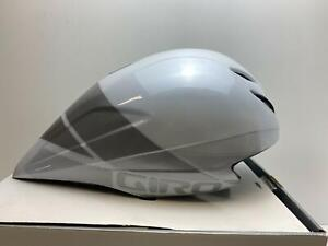 new Giro ADVANTAGE 2 bicycle Triathlon TT HELMET white/silver LARGE
