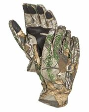 Outdoor Smart Phone Compatible Camouflage Hunting Gloves w/ Sure Grip Palms