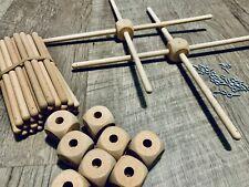 10 Children's Wooden Mobile Frame-Crib Cross Hangers