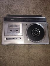 VTG Rare SHARP GF-1900 Stereo Radio Cassette compact BoomBox DOES NOT WORK