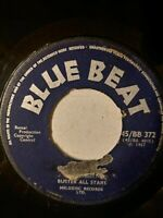 "Buster All Stars ‎– Sounds And Pressure / My Darling - 7"" Vinyl Single 1967"