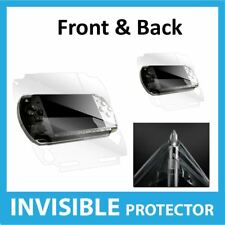 Sony PSP Slim & Lite Screen Protector Front & Back Invisible Skin Shield