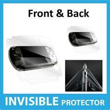 Sony PSP Slim & Lite Protector De Pantalla Invisible Escudo de Piel Frontal Y Trasero