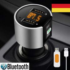 Bluetooth FM Transmitter Auto MP3 Player 2 USB Stick KFZ AUX Zigarettenanzünder