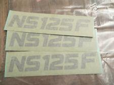 ADESIVO stickers Mark Emblem - Honda NS125F NOS: 83551-KR1-760ZB   83551KR176