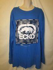 NWT Ecko Unltd Big /& Tall Long Sleeve B/&T Black,Blue,Red,Grey Graphic T-Shirt