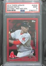 2014 Topps Update Red Foil #US26 Mookie Betts PSA 9