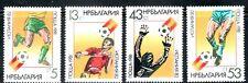 SELLOS DEPORTES FUTBOL BULGARIA 1981 2668/01 MUNDIAL 82 4v.