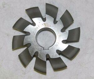 """PRO Involute Gear Cutter 5-3/4"""" Wd 27.39 10T 1-1/2"""" Hole 14-1/2º X7-MG-005-8"""