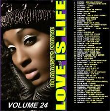 LOVE IS LIFE  - REGGAE LOVERS ROCK &  CULTURE MIX CD VOLUME 24