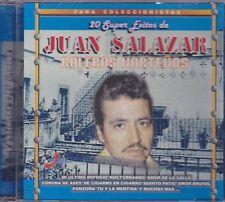Juan Salazar Boleros Nortenos 20 super Exitos CD New Sealed