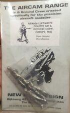 THE AIRCAM RANGE AIR4806 - LUFTWAFFE FIGHTER AIR & GROUND CREW - 1/48 METAL