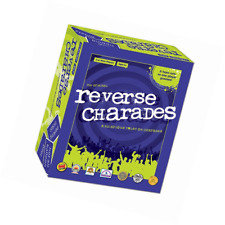 Reverse Charades Board Game - Fun & Hilarious Family Games - For All Ages - Perf