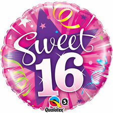 "16th Birthday Party Decoration Sweet Sixteen 18"" Foil Balloon"