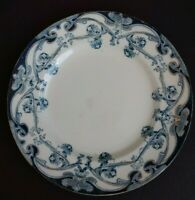 "Royal Staffordshire Blue IRIS Salad Plate 8.75"" - READ DESCRIPTION"