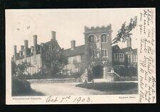 Berkshire Berks WOOLHAMPTON College 1903 u/b PPC Righton's Series